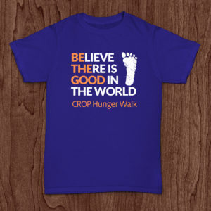 Believe there is good in the world - Crop Hunger Walk